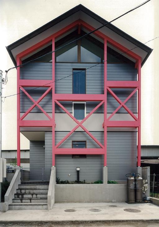 三宅建築設計事務所 秋元邸 山梨県 木造 2階建