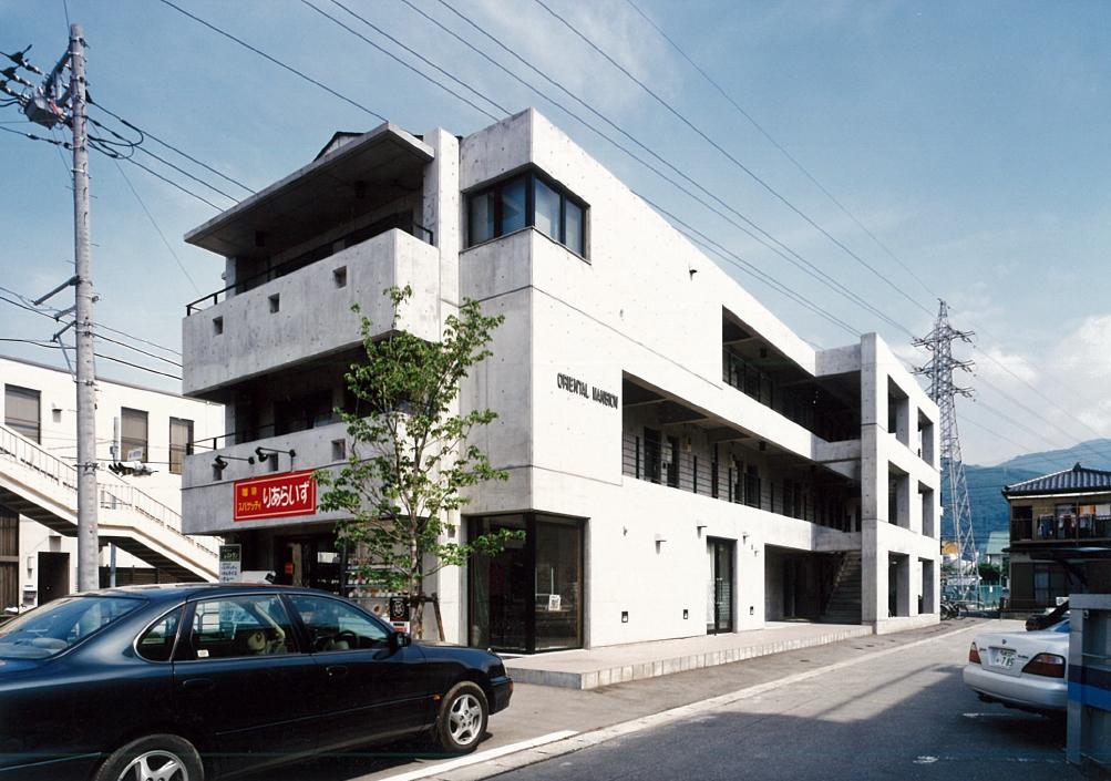 三宅建築設計事務所 オリエンタルマンション 山梨県 RC造 3階建