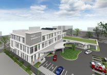 三宅建築設計事務所 甲府市地域医療センター 山梨県 鉄骨造 3階建