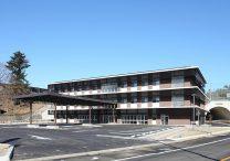 三宅建築設計事務所 上野原市総合福祉センター 山梨県 RC造 鉄骨造 3階建