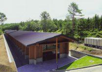 三宅建築設計事務所 富士北麓公園 屋内練習走路 富士ウッドストレート 山梨県 木造 平屋建