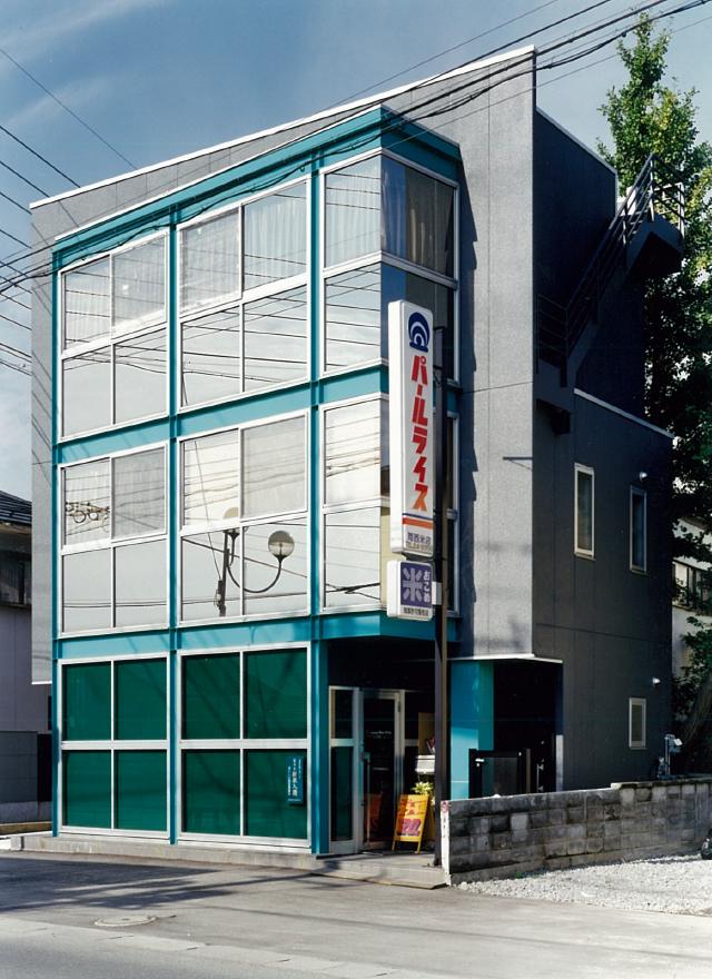 三宅建築設計事務所 河西米店 山梨県 鉄骨造 3階建