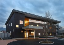 三宅建築設計事務所 産前産後ケアセンター 山梨県 鉄骨造 2階建