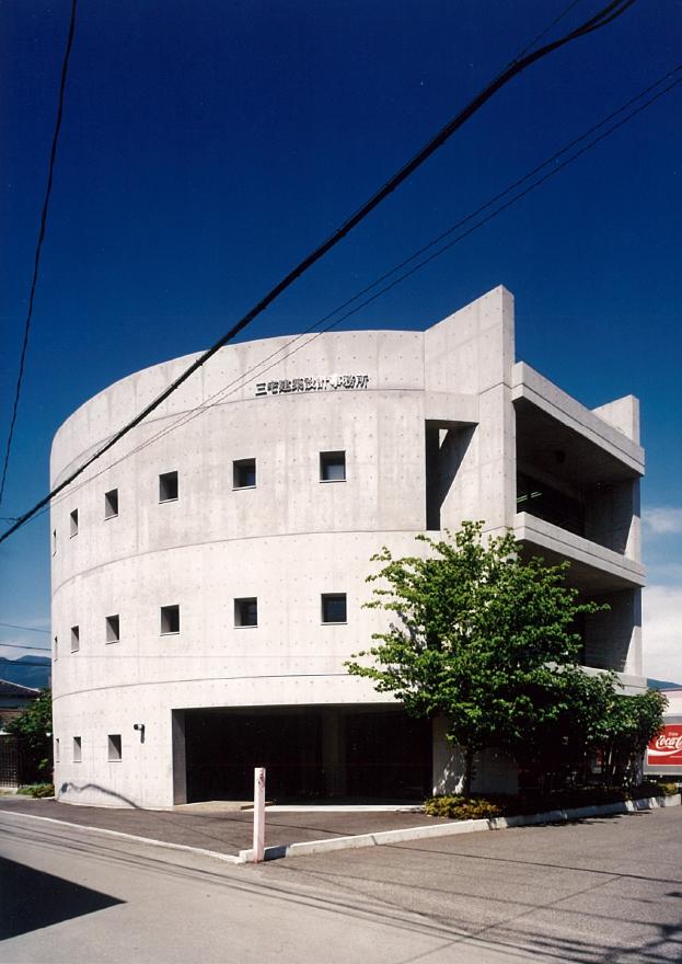 三宅建築設計事務所 マティアM 山梨県 RC造 3階建