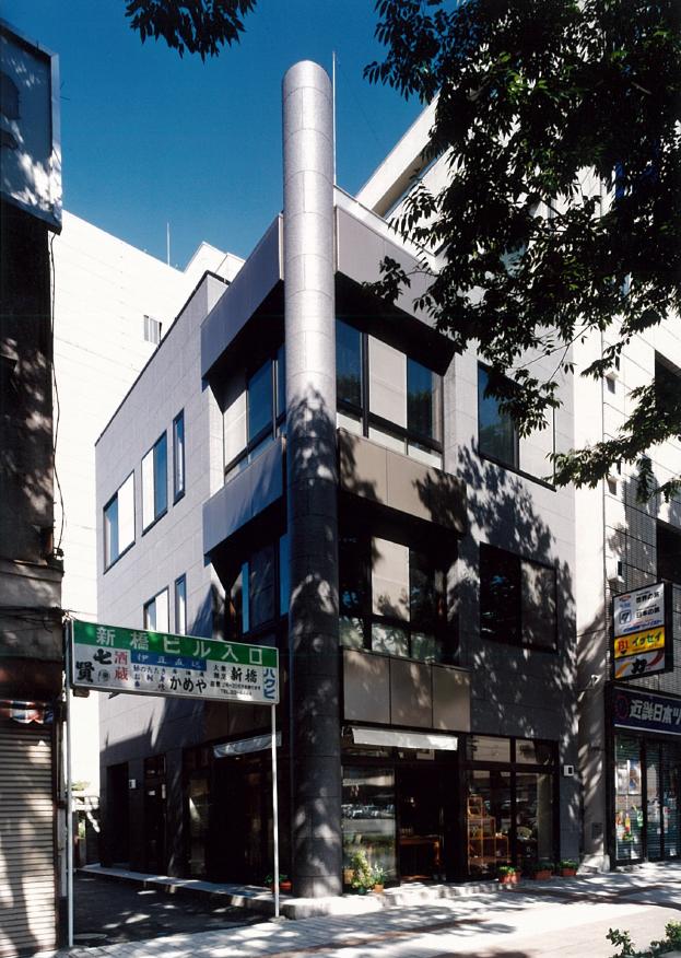 三宅建築設計事務所 小澤ビル 山梨県 鉄骨造 4階建