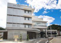 三宅建築設計事務所 南都留合同庁舎 山梨県 鉄骨造 4階建